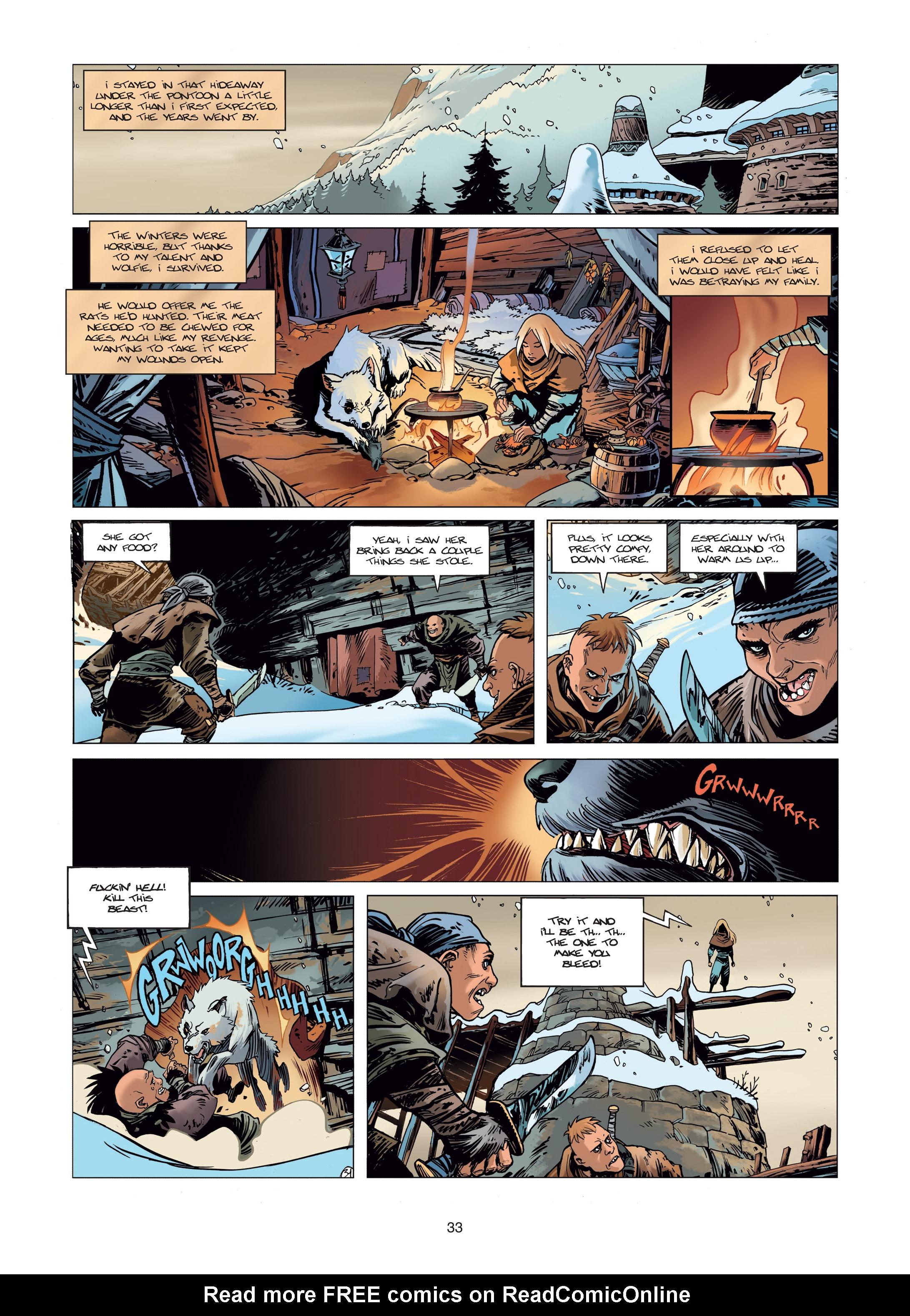 Read online Sangre Vol. 1: Sangre the Survivor comic -  Issue # Full - 33