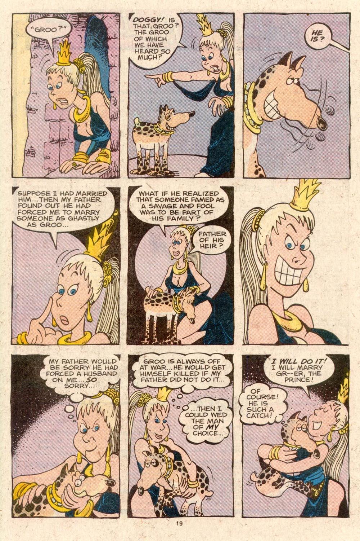 Read online Sergio Aragonés Groo the Wanderer comic -  Issue #42 - 19