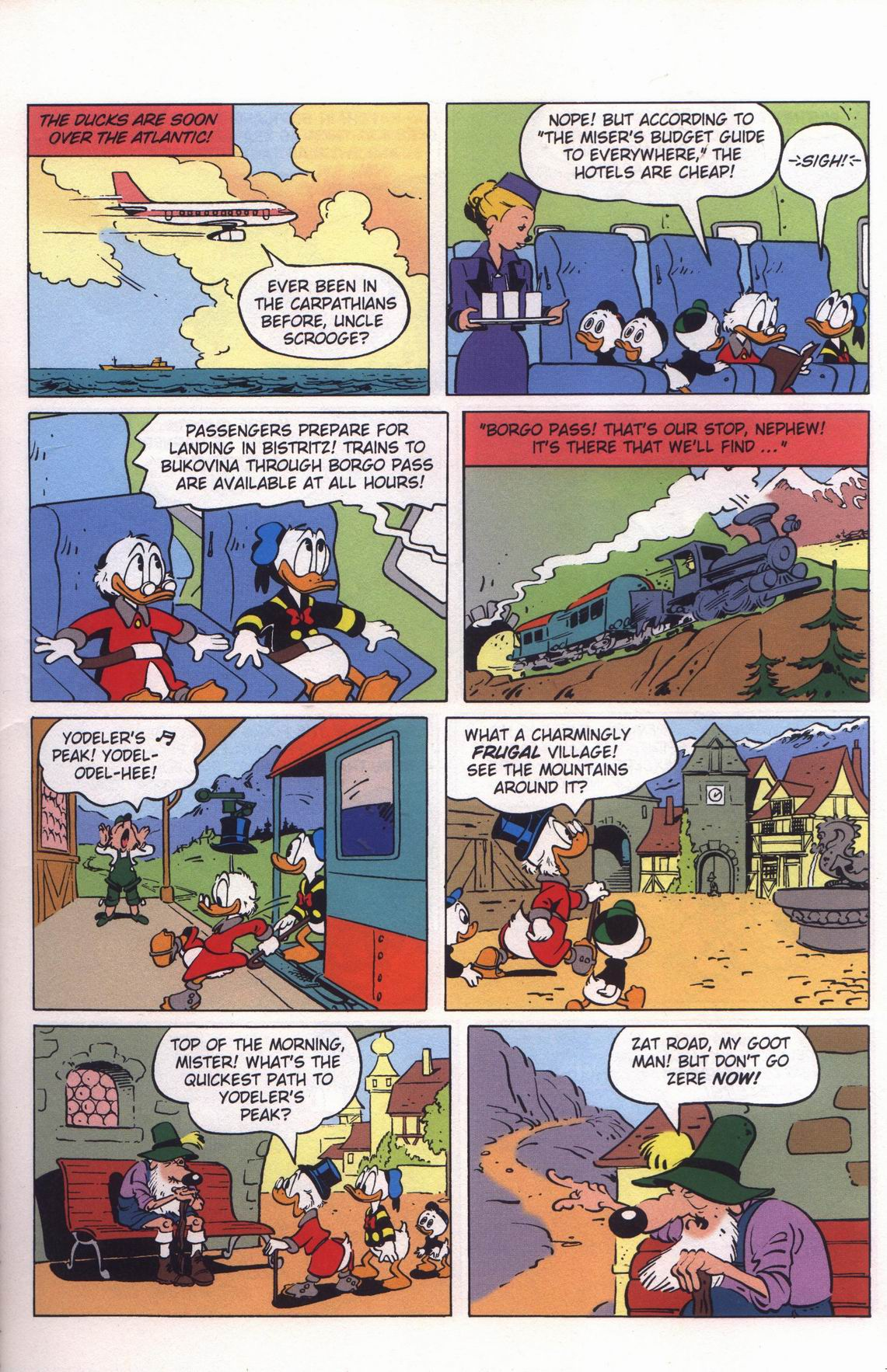 Read online Uncle Scrooge (1953) comic -  Issue #313 - 11