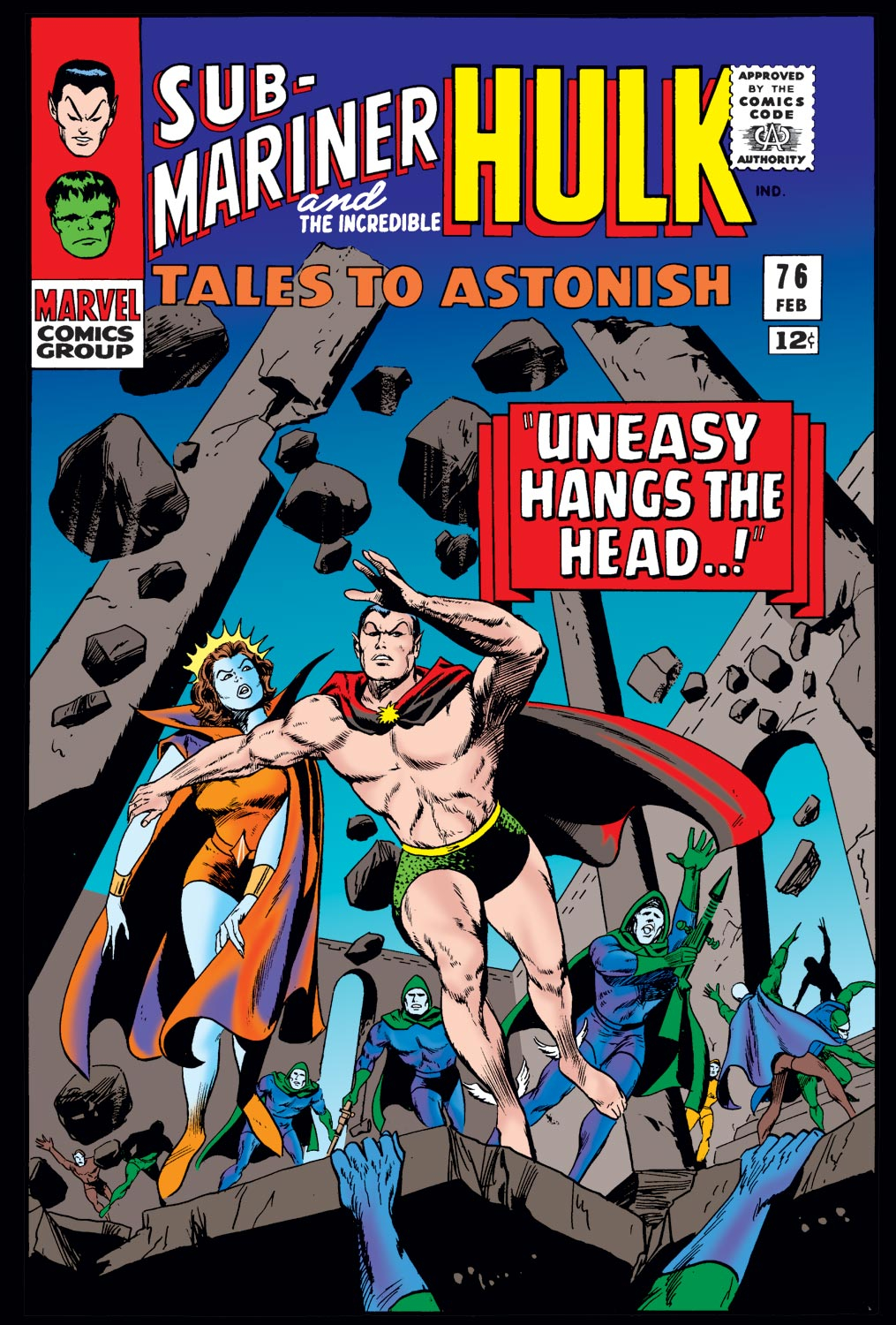 Tales to Astonish (1959) issue 76 - Page 1