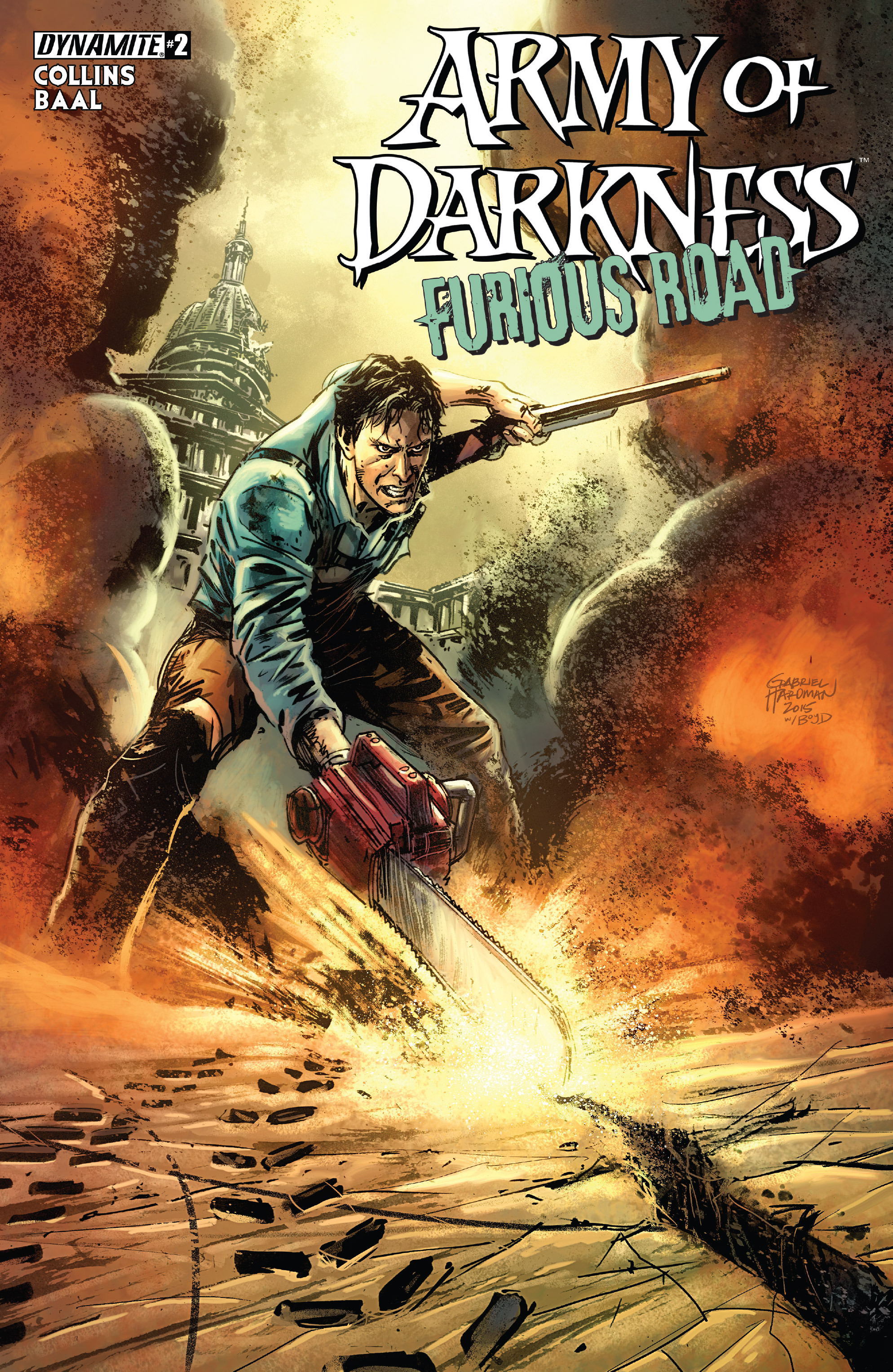 Read online Army of Darkness: Furious Road comic -  Issue #2 - 1