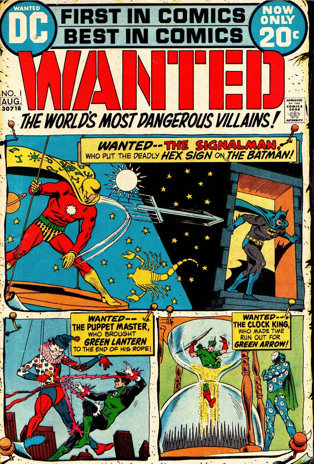 Wanted, the World's Most Dangerous Villains issue 1 - Page 1