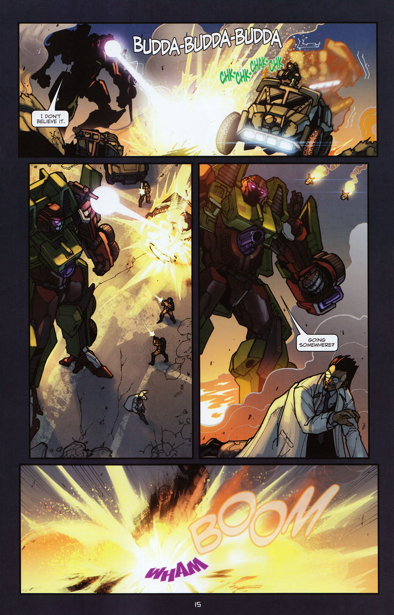 Read online Transformers: Alliance comic -  Issue #2 - 18