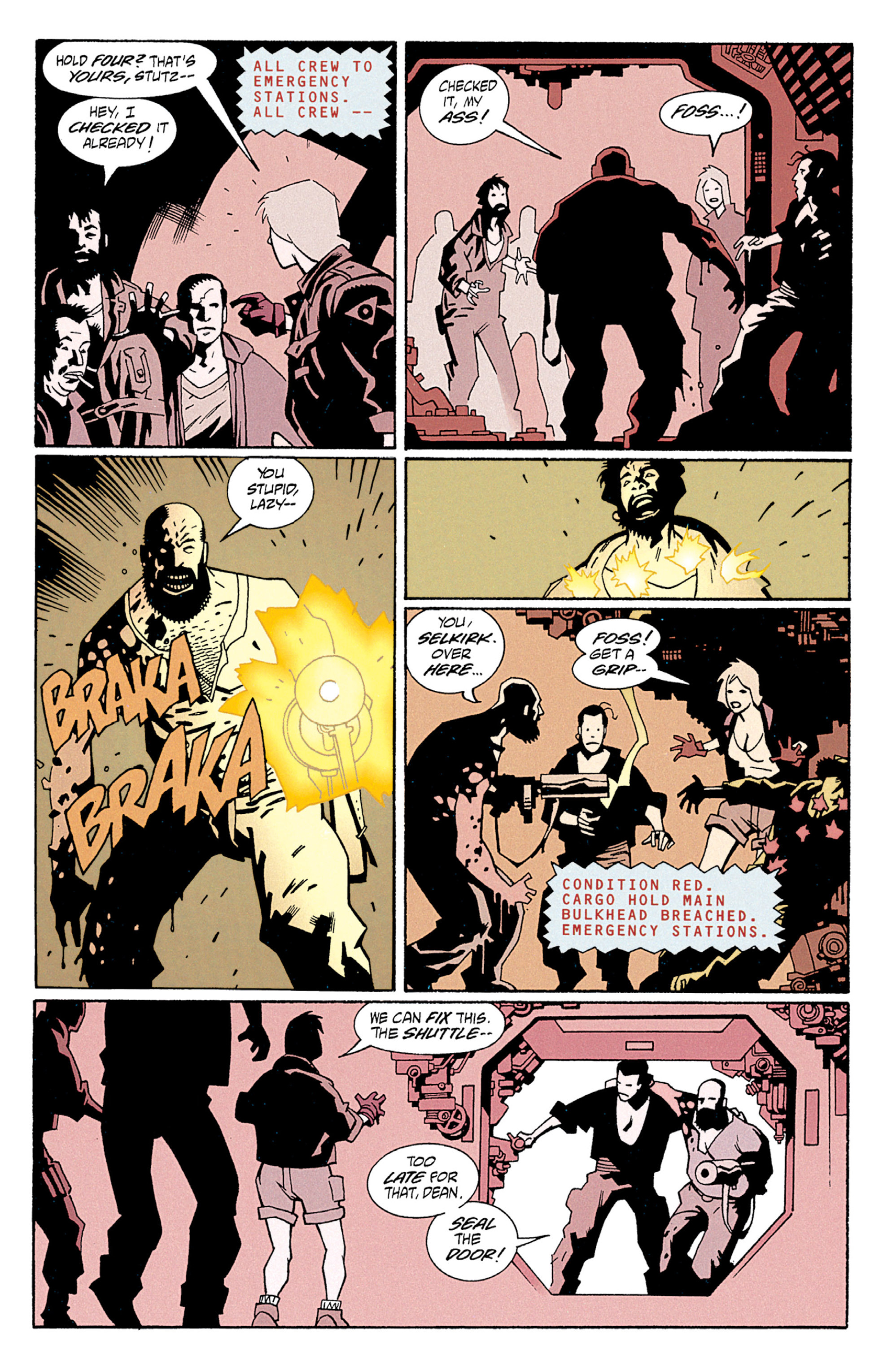 Read online Aliens: Salvation comic -  Issue # TPB - 12