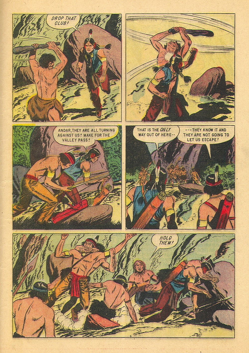 Read online Turok, Son of Stone comic -  Issue #36 - 25