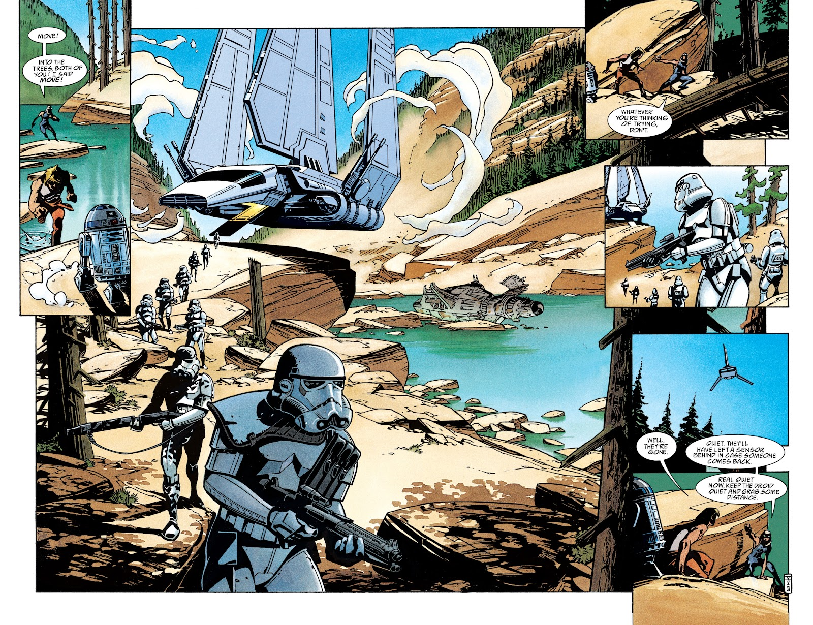 Read online Star Wars Legends: The New Republic - Epic Collection comic -  Issue # TPB 4 (Part 2) - 4