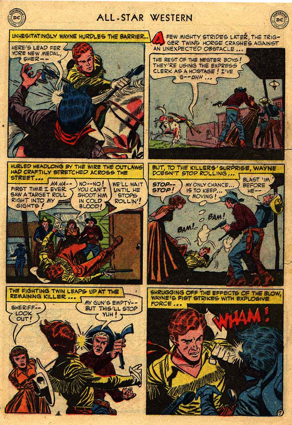 Read online All-Star Western (1951) comic -  Issue #62 - 31