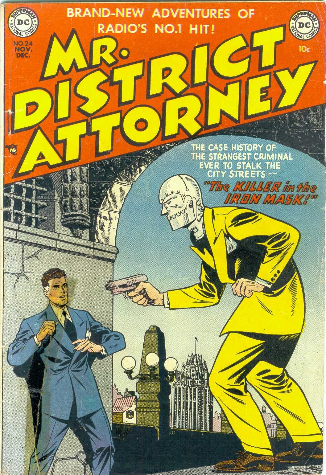 Mr. District Attorney issue 24 - Page 1