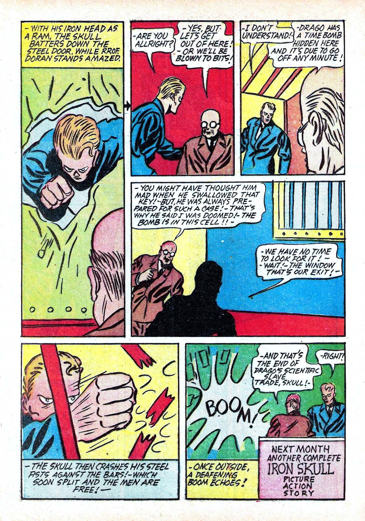 Read online Amazing Man Comics comic -  Issue #11 - 28