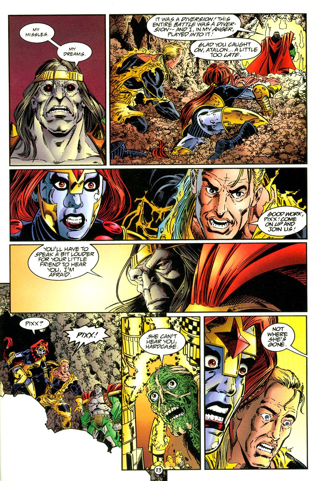 Read online UltraForce (1994) comic -  Issue #5 - 24