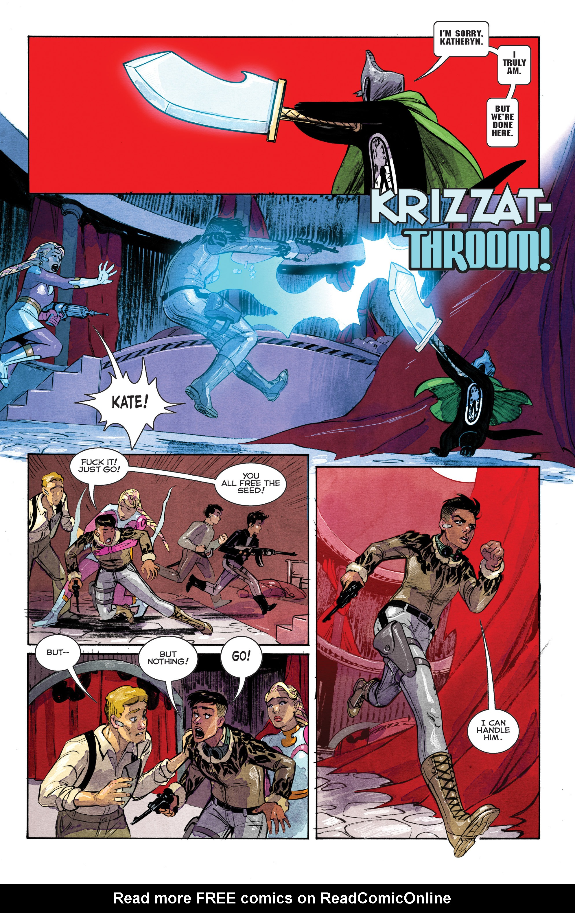 Read online Shutter comic -  Issue #26 - 11