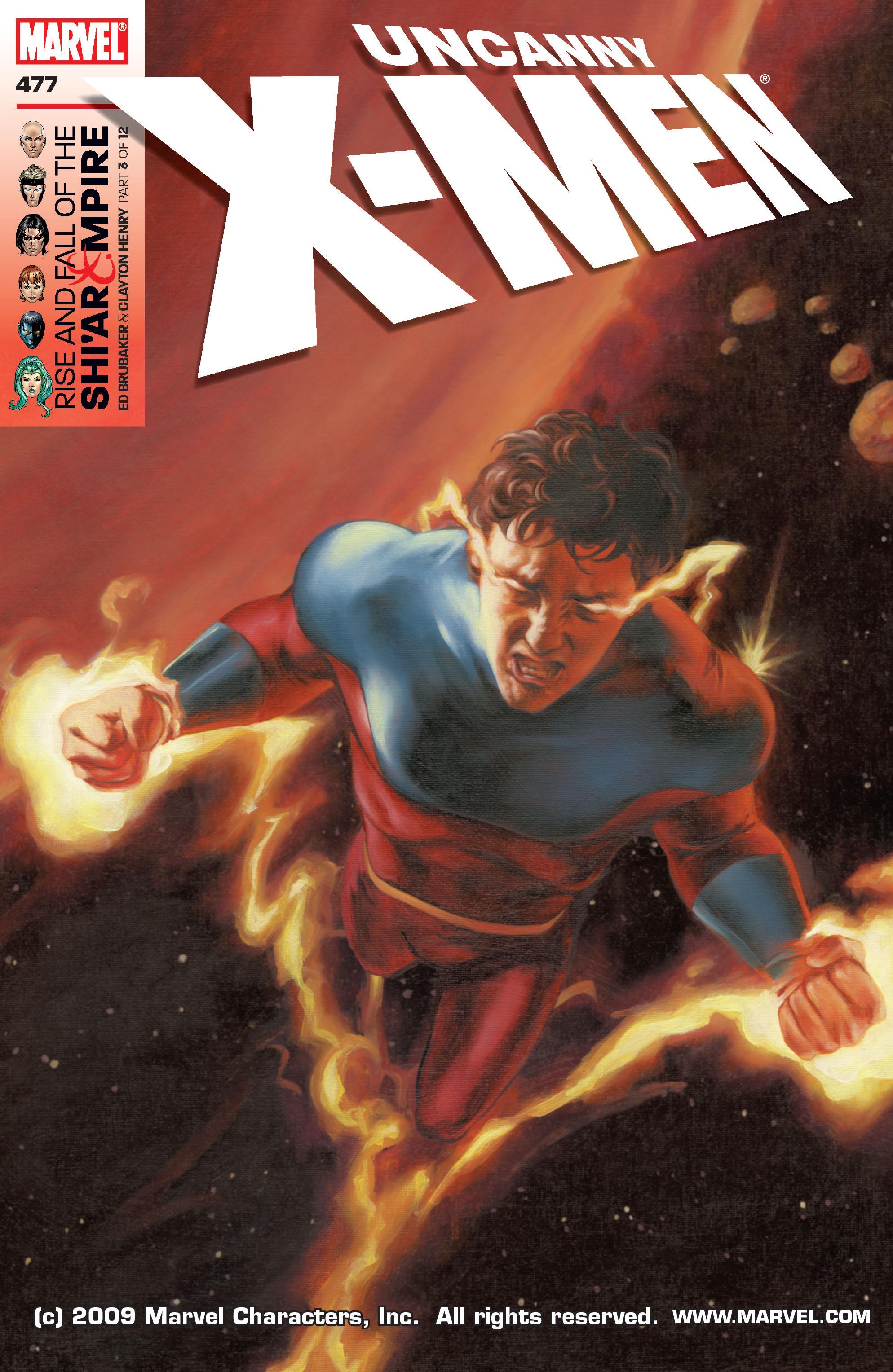Uncanny X-Men (1963) 477 Page 1
