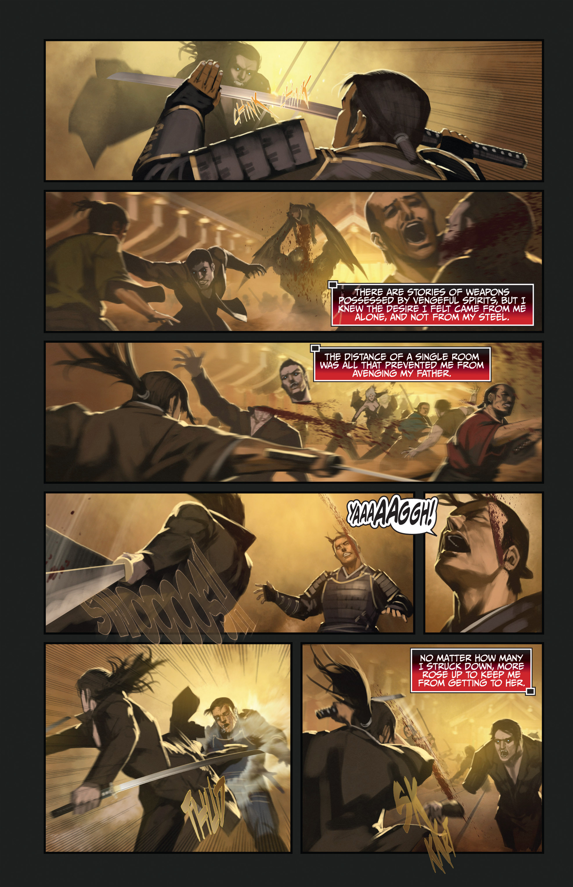 Read online Bushido: The Way of the Warrior comic -  Issue #3 - 6