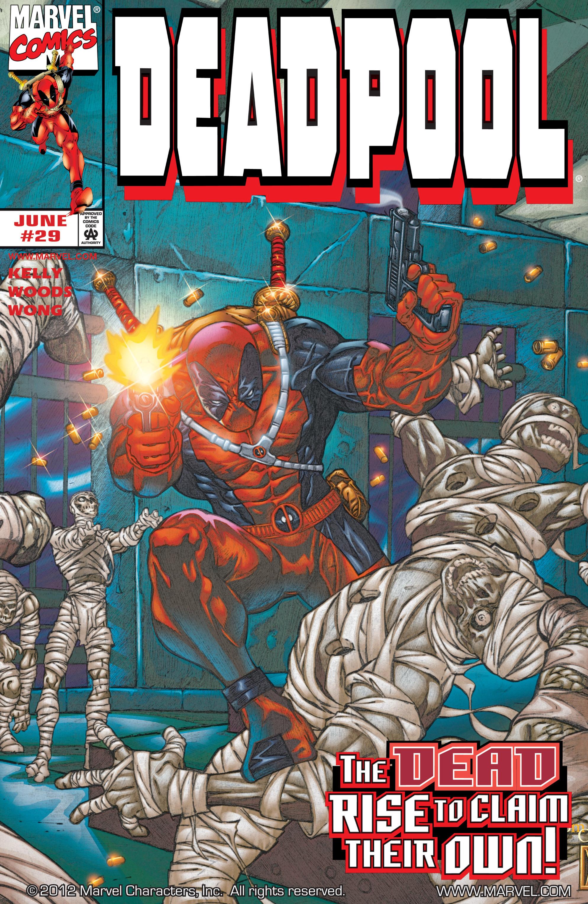 Deadpool (1997) 29 Page 1