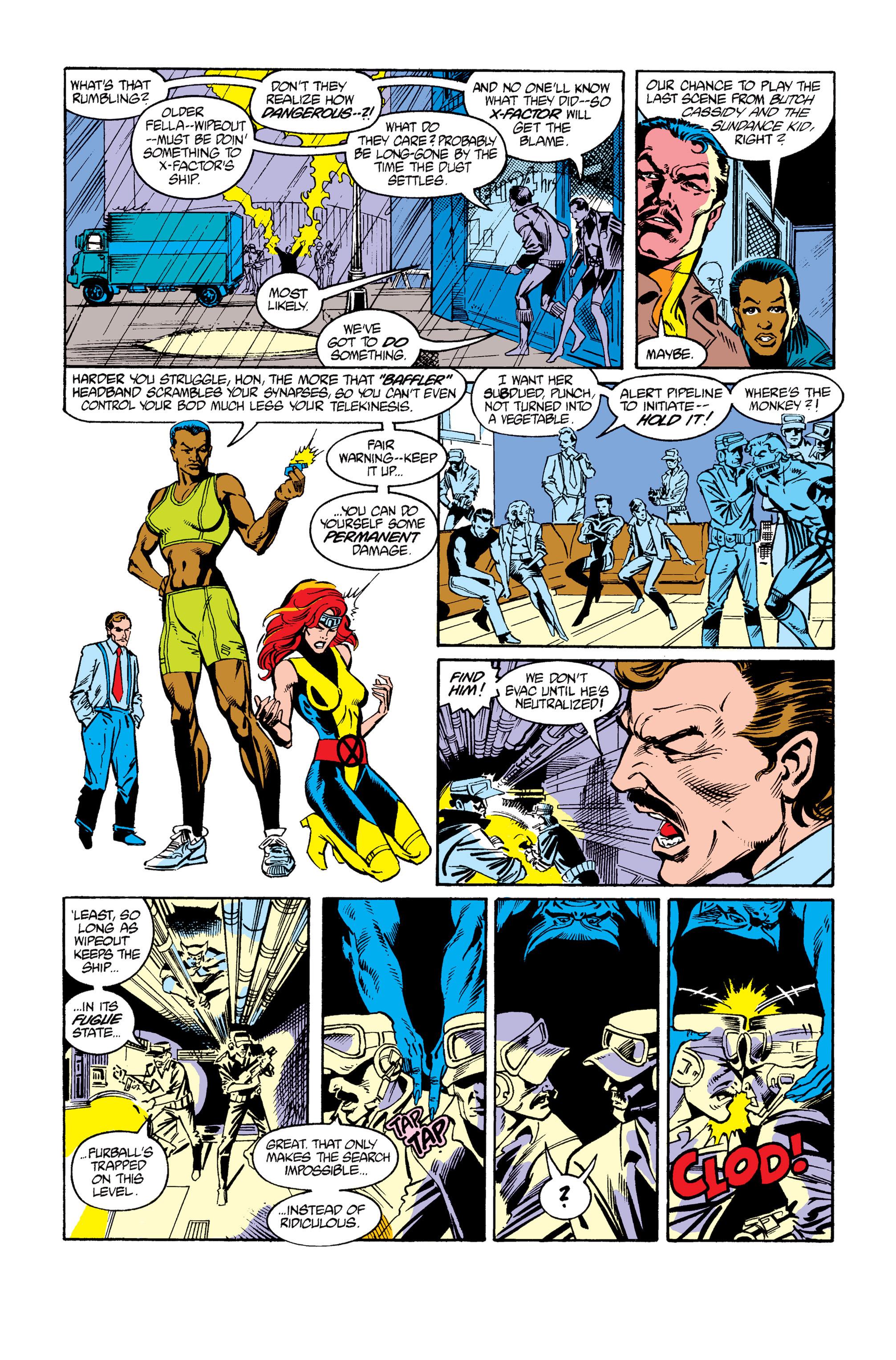 Read online Uncanny X-Men (1963) comic -  Issue #264 - 19