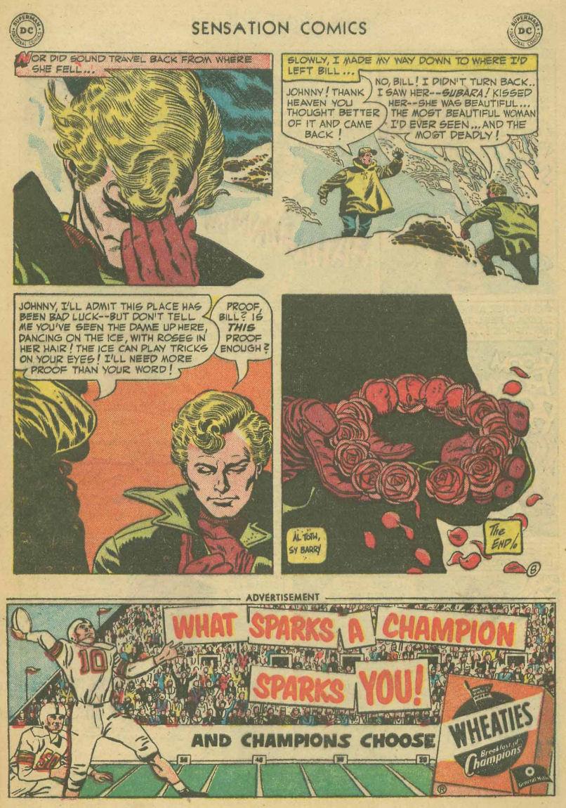 Read online Sensation (Mystery) Comics comic -  Issue #107 - 32