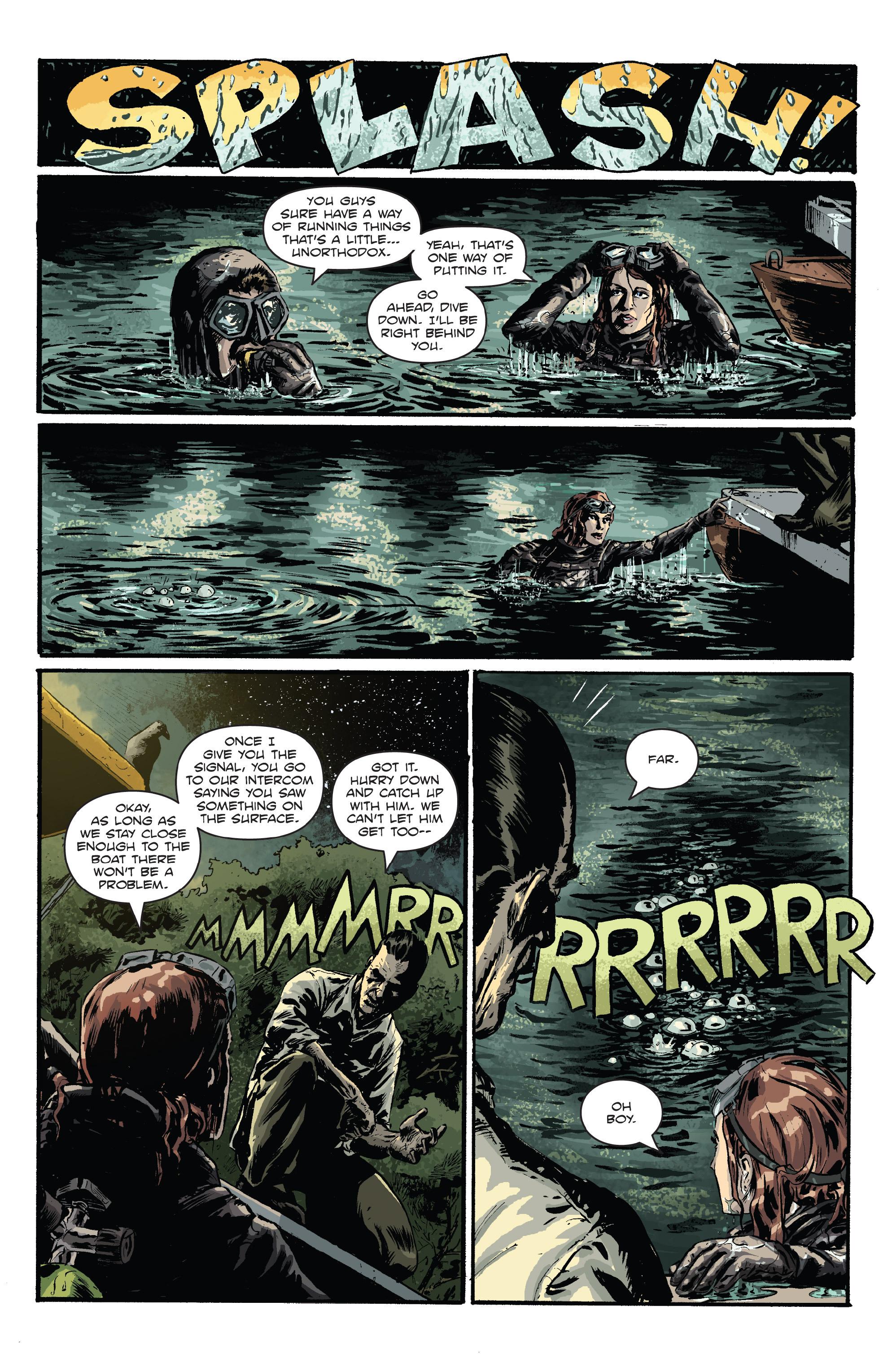 Read online Hoax Hunters (2012) comic -  Issue # TPB 3 - 124