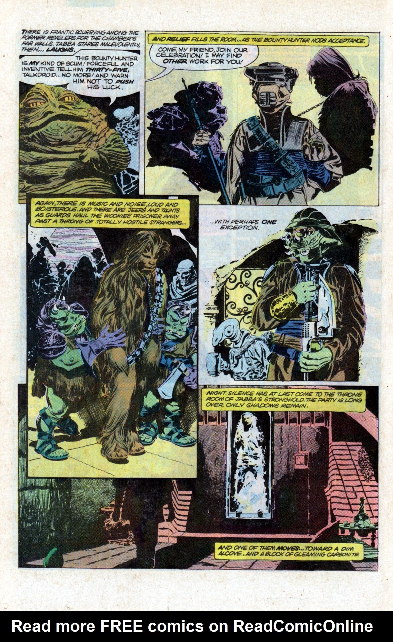 Read online Star Wars: Return of the Jedi comic -  Issue #1 - 14