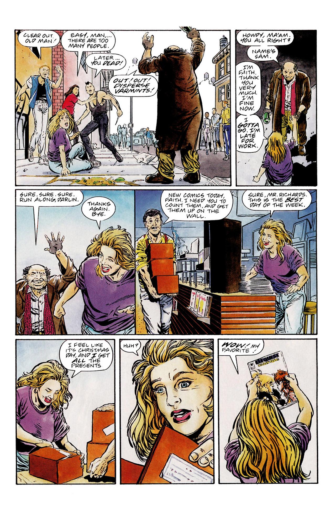 Read online Harbinger (1992) comic -  Issue #13 - 4