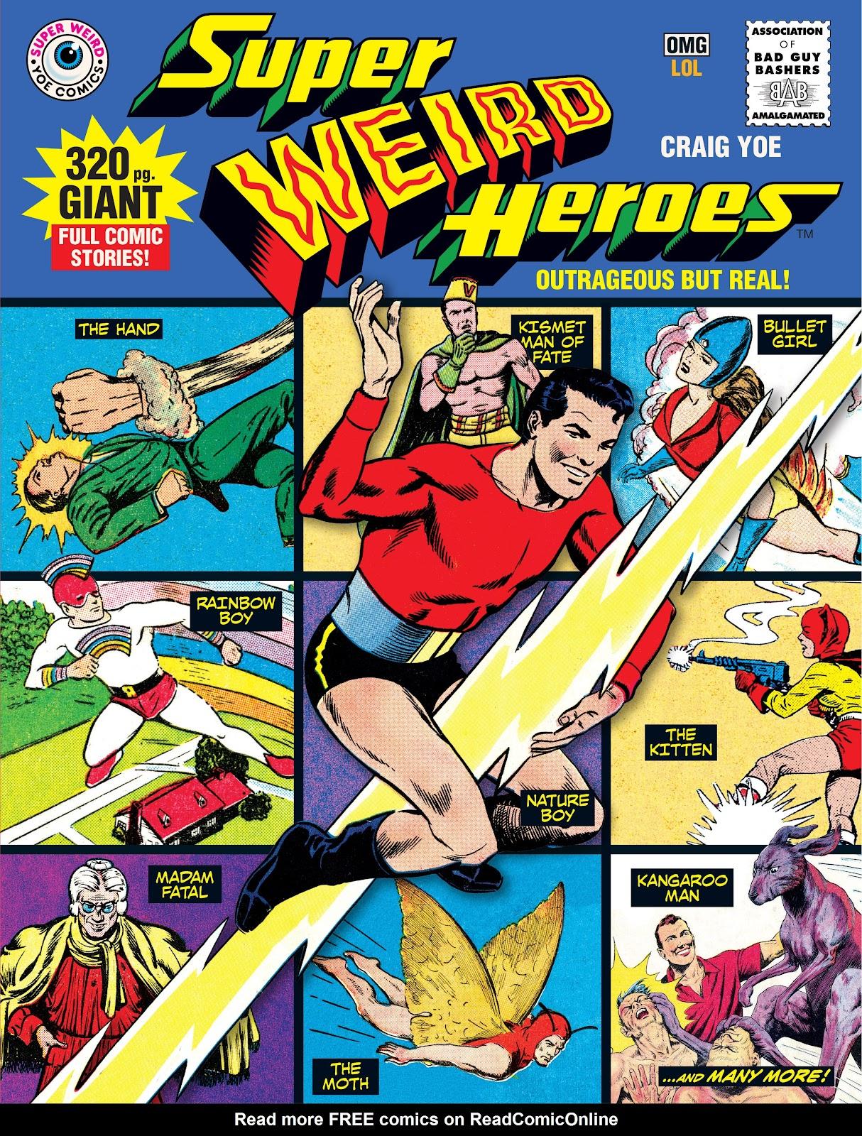 Read online Super Weird Heroes comic -  Issue # TPB 1 (Part 1) - 1