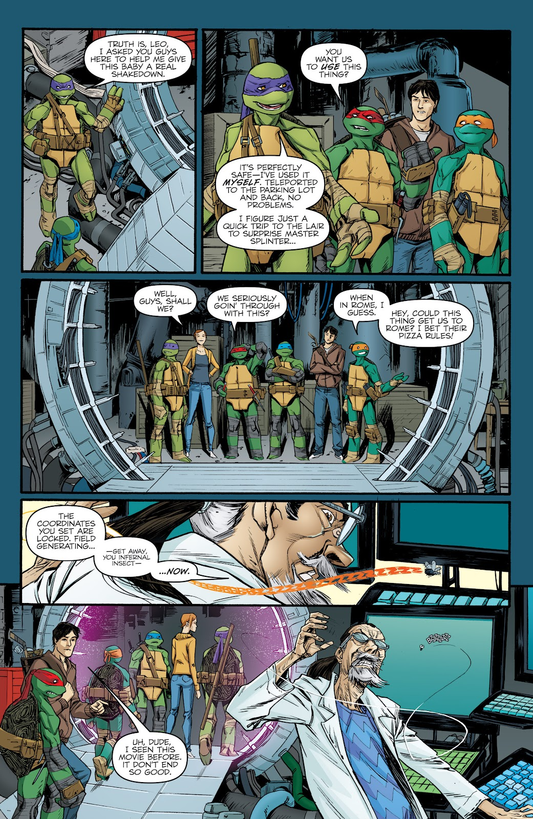 Read online Teenage Mutant Ninja Turtles: The IDW Collection comic -  Issue # TPB 5 (Part 2) - 79