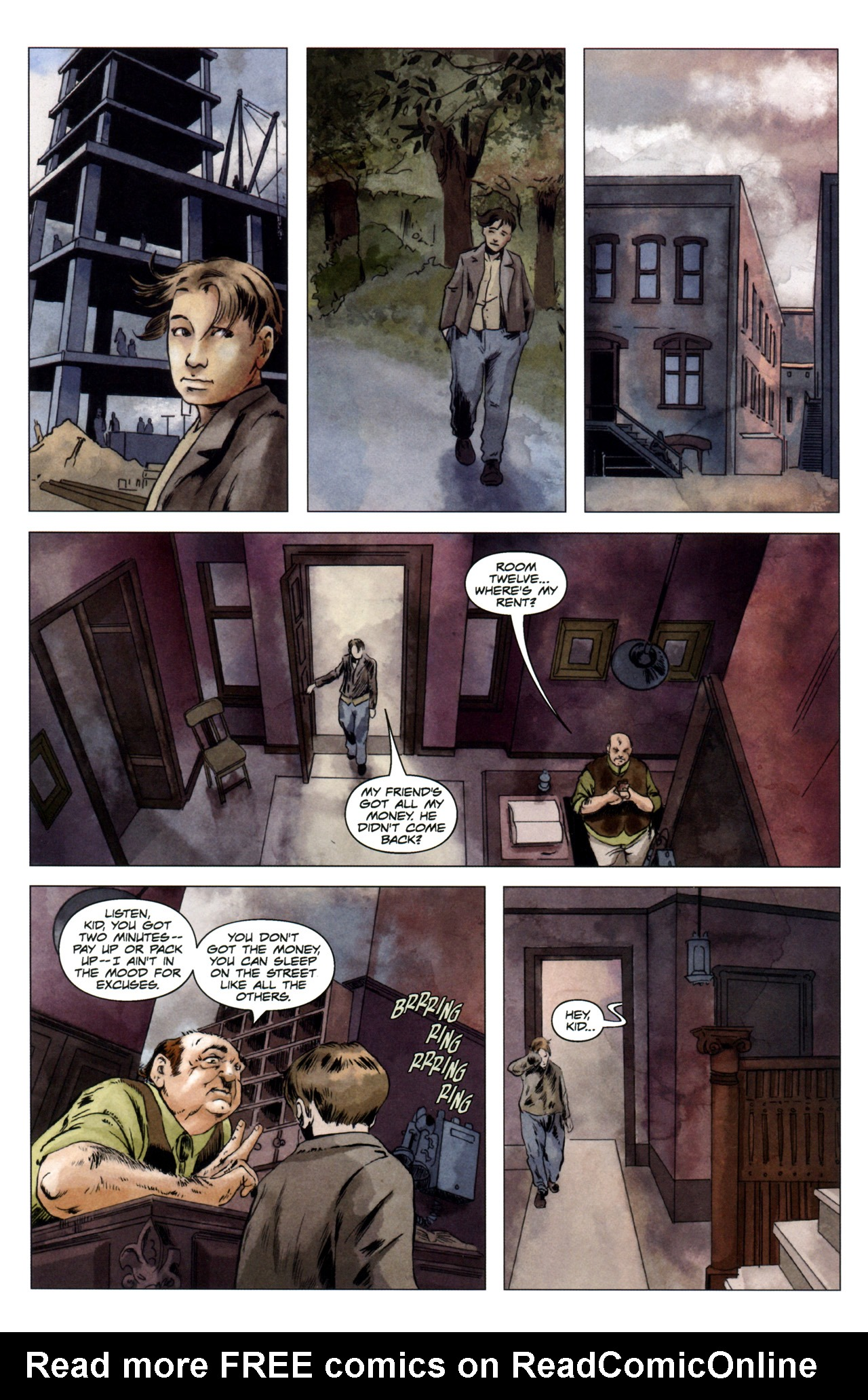 Read online Severed comic -  Issue #4 - 20