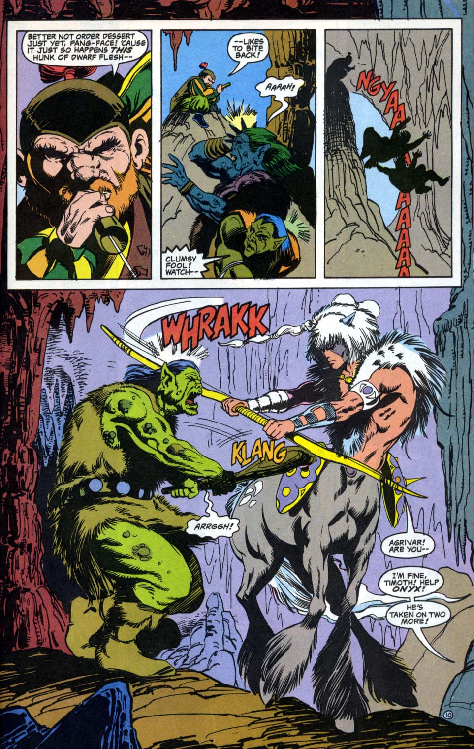 Read online Advanced Dungeons & Dragons comic -  Issue #4 - 10