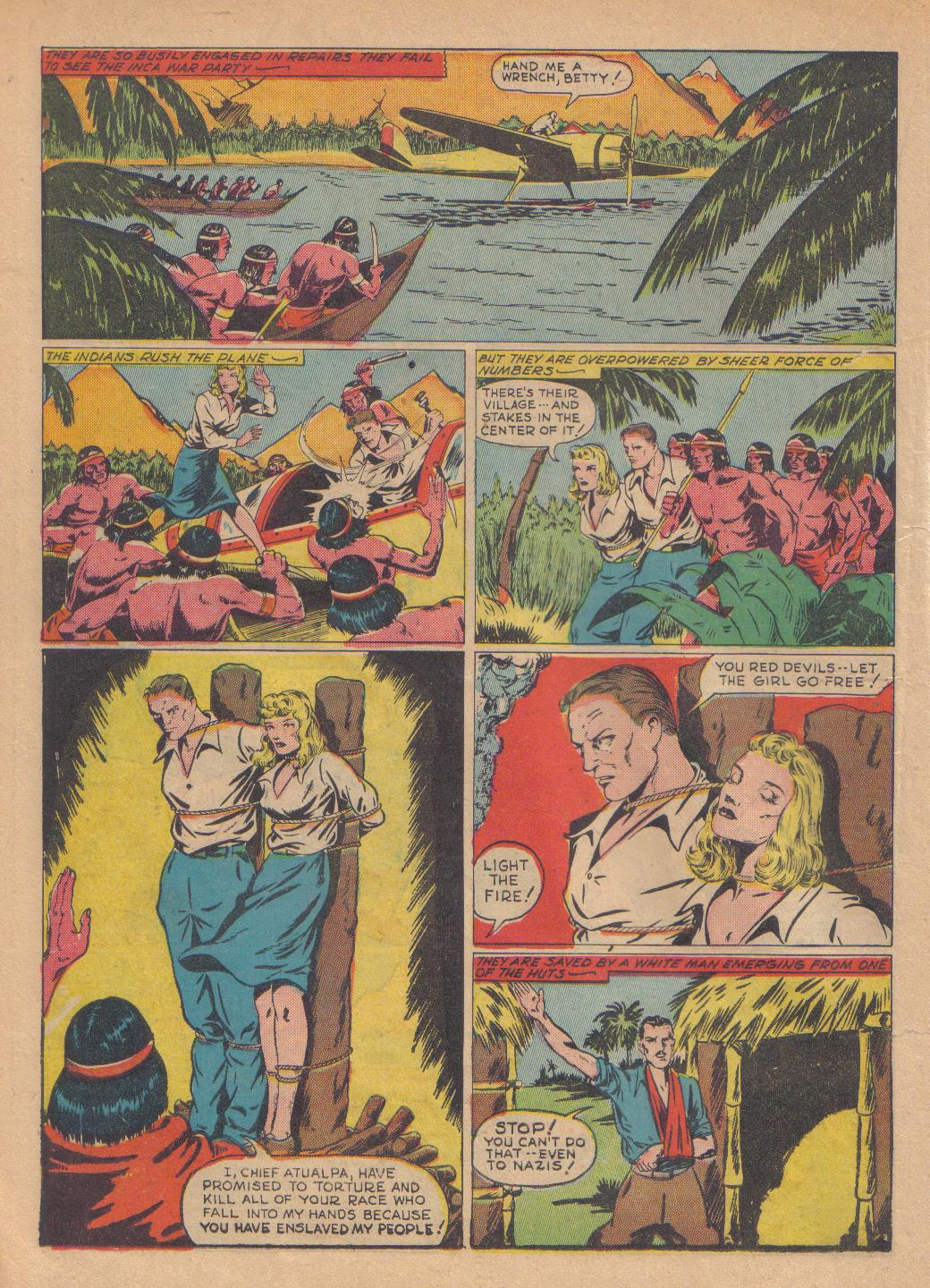 Exciting Comics (1940) issue 13 - Page 34