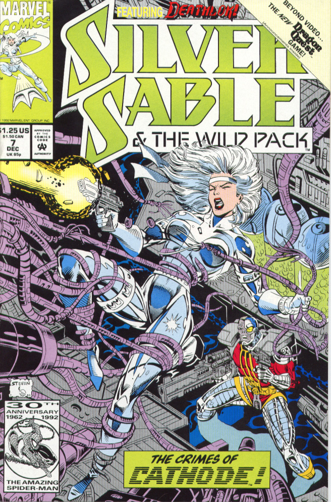 Read online Silver Sable and the Wild Pack comic -  Issue #7 - 1