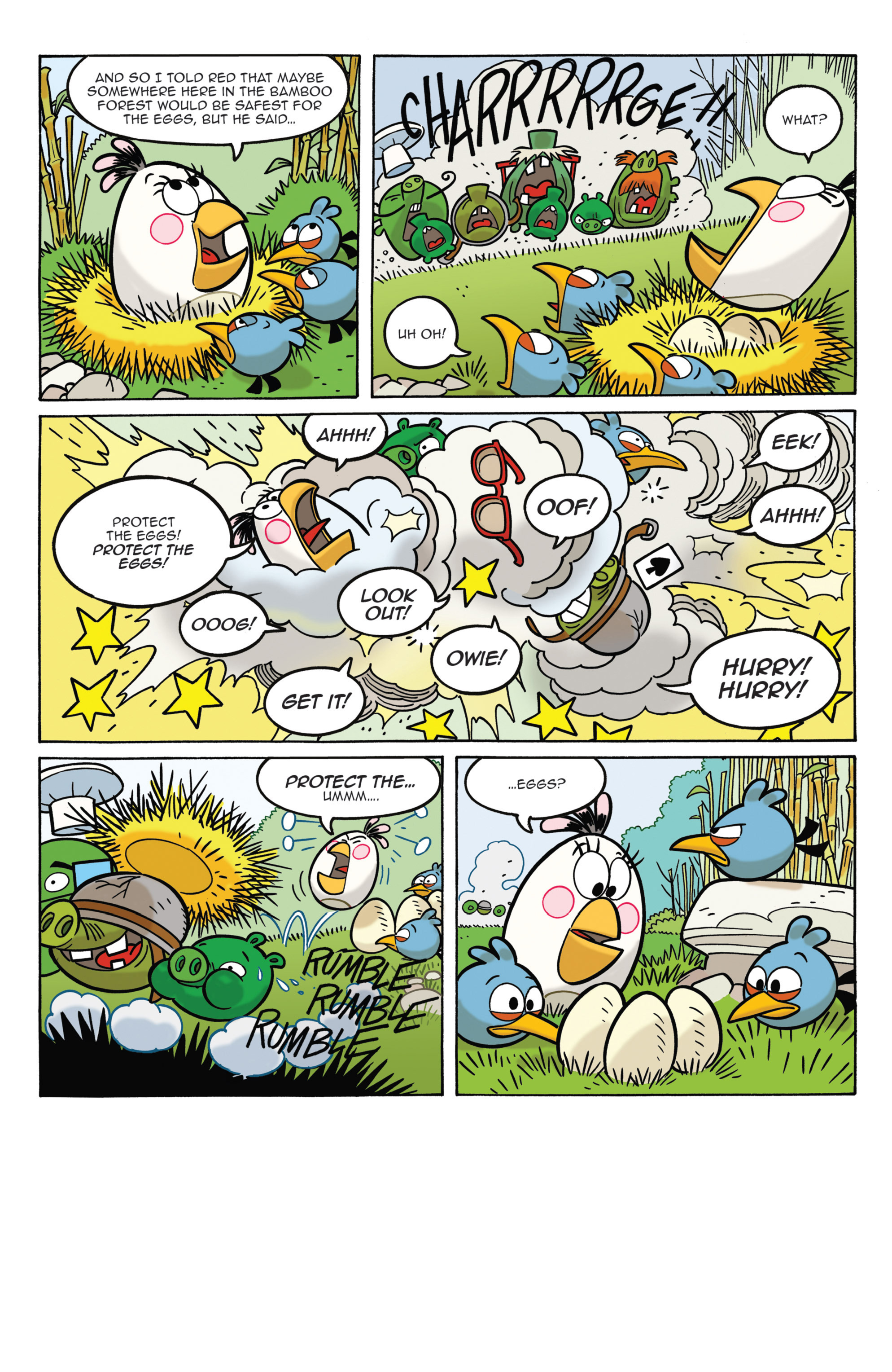 Read online Angry Birds Comics (2014) comic -  Issue #3 - 11