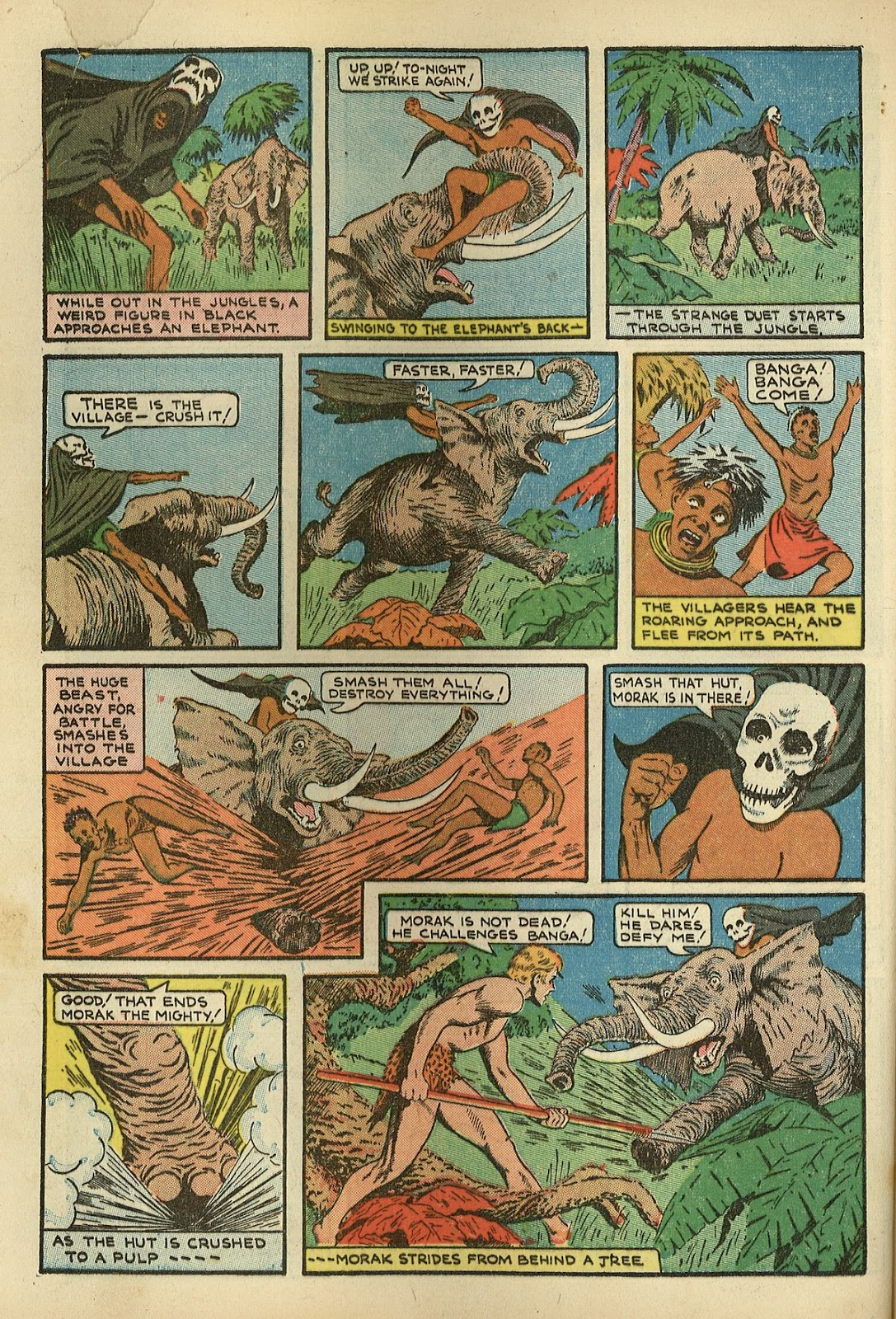 Read online Super-Magician Comics comic -  Issue #1 - 52