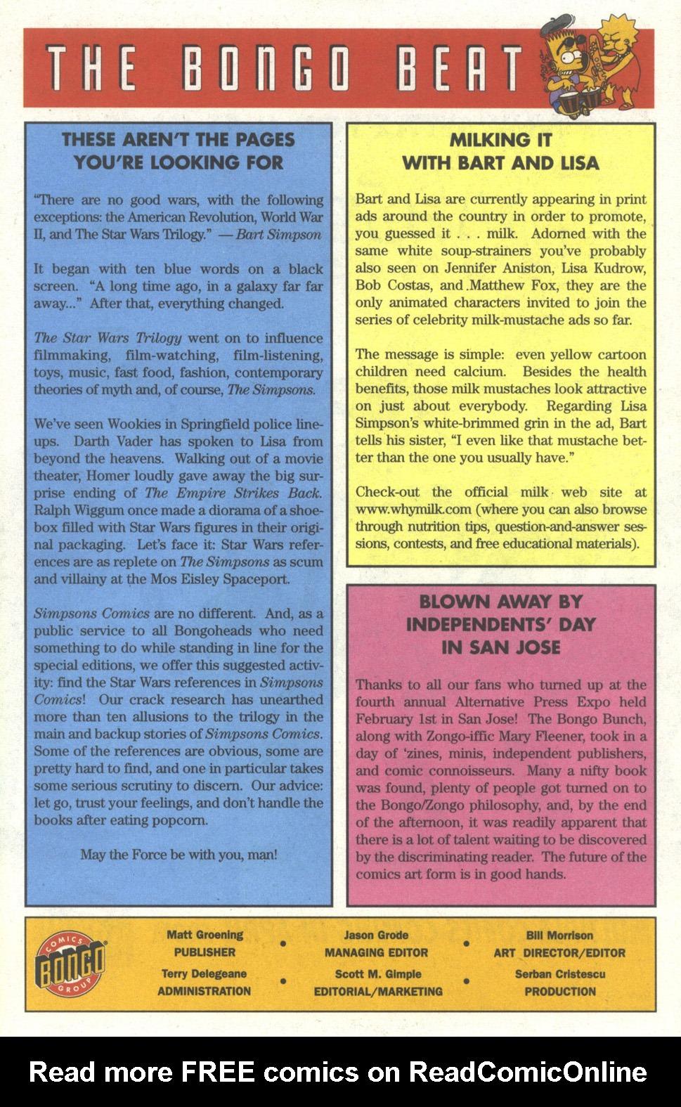 Read online Simpsons Comics comic -  Issue #29 - 23