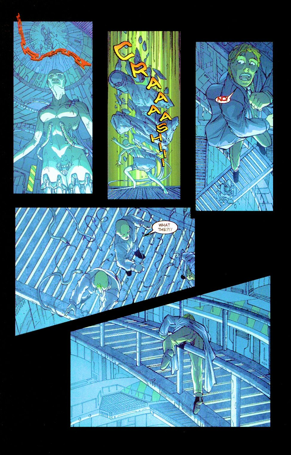 Darkminds (1998) Issue #8 #9 - English 13