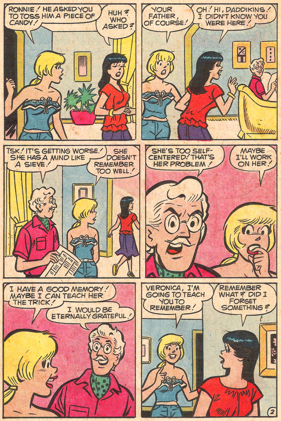 Read online Archie's Girls Betty and Veronica comic -  Issue #274 - 14