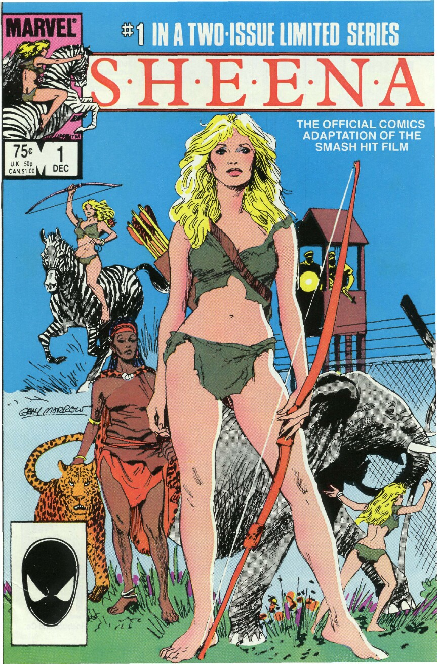 Read online Sheena comic -  Issue #1 - 1