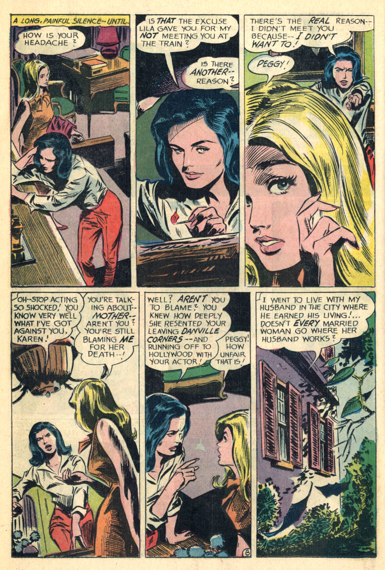 Read online Secret Hearts comic -  Issue #110 - 26