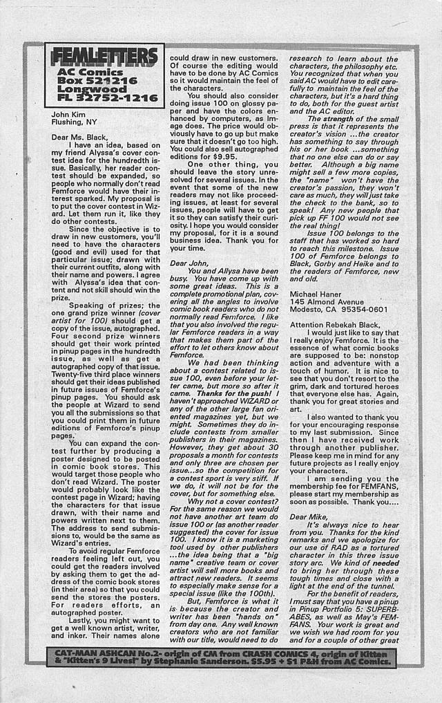 Femforce Issue #94 #94 - English 25