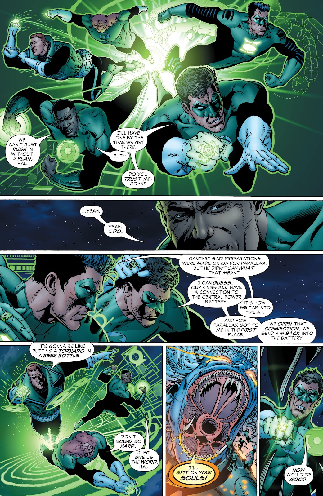Read online Green Lantern by Geoff Johns comic -  Issue # TPB 1 (Part 2) - 38