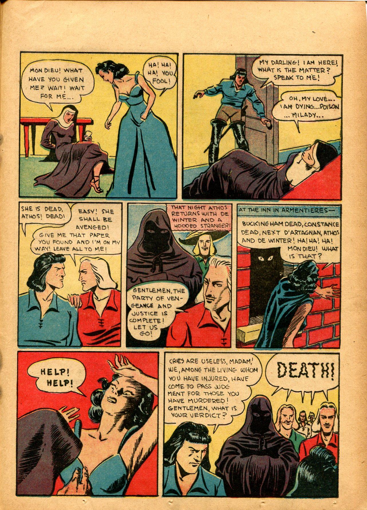 Read online Shadow Comics comic -  Issue #8 - 47