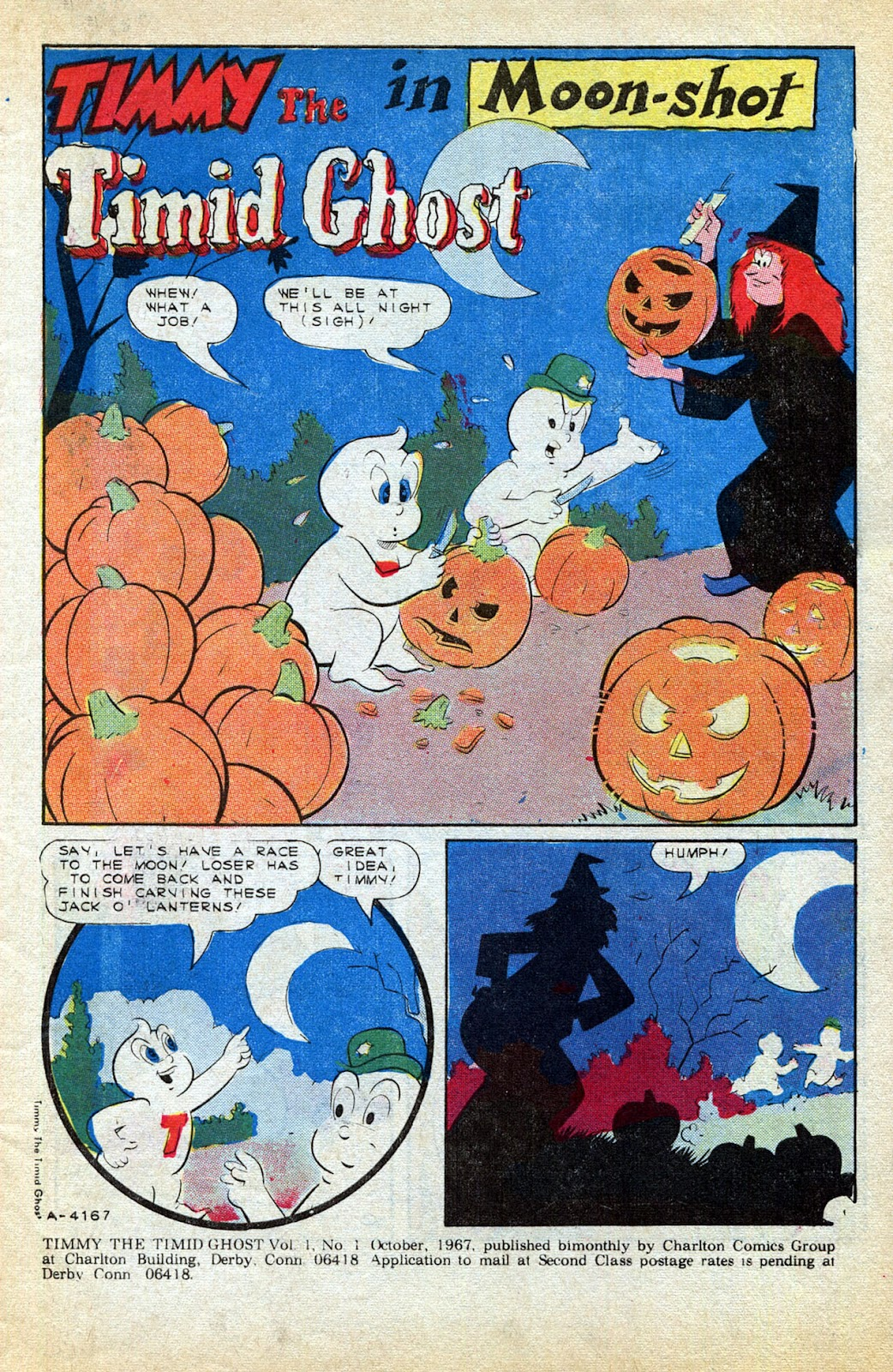 Read online Timmy the Timid Ghost comic -  Issue #1 - 3
