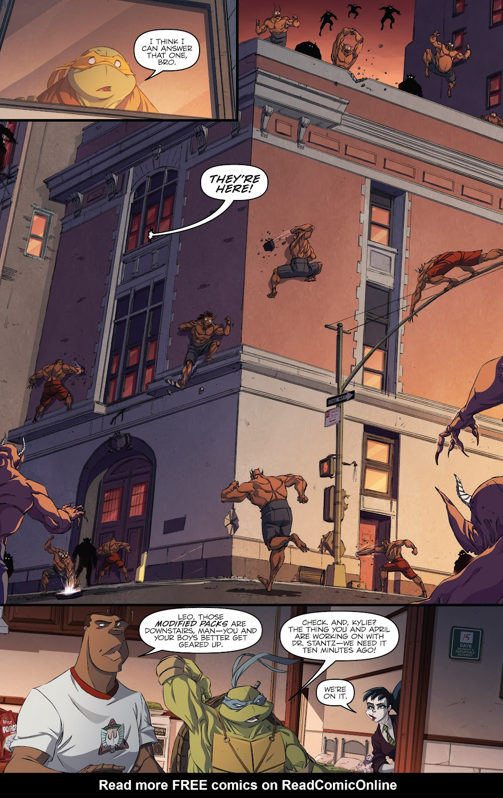 Read online Teenage Mutant Ninja Turtles: The IDW Collection comic -  Issue # TPB 5 (Part 3) - 43