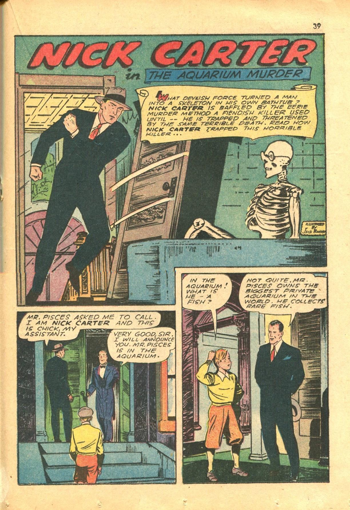 Read online Shadow Comics comic -  Issue #24 - 31