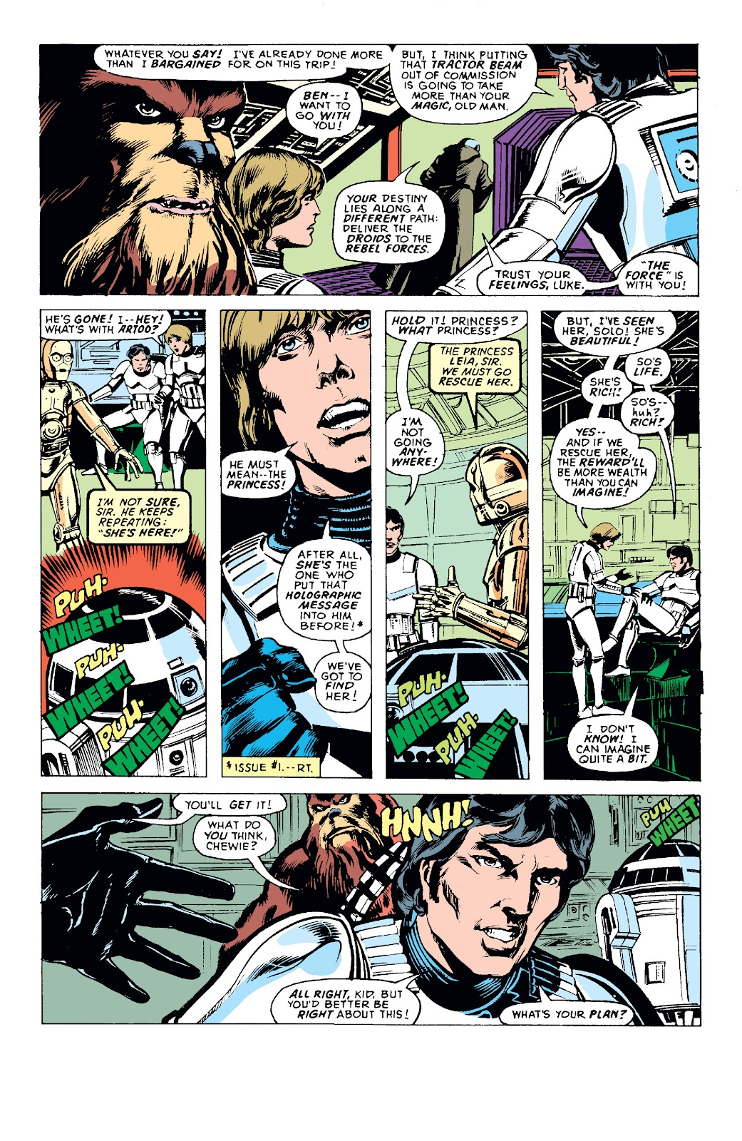Read online Star Wars Legends: The Original Marvel Years - Epic Collection comic -  Issue # TPB 1 (Part 1) - 55