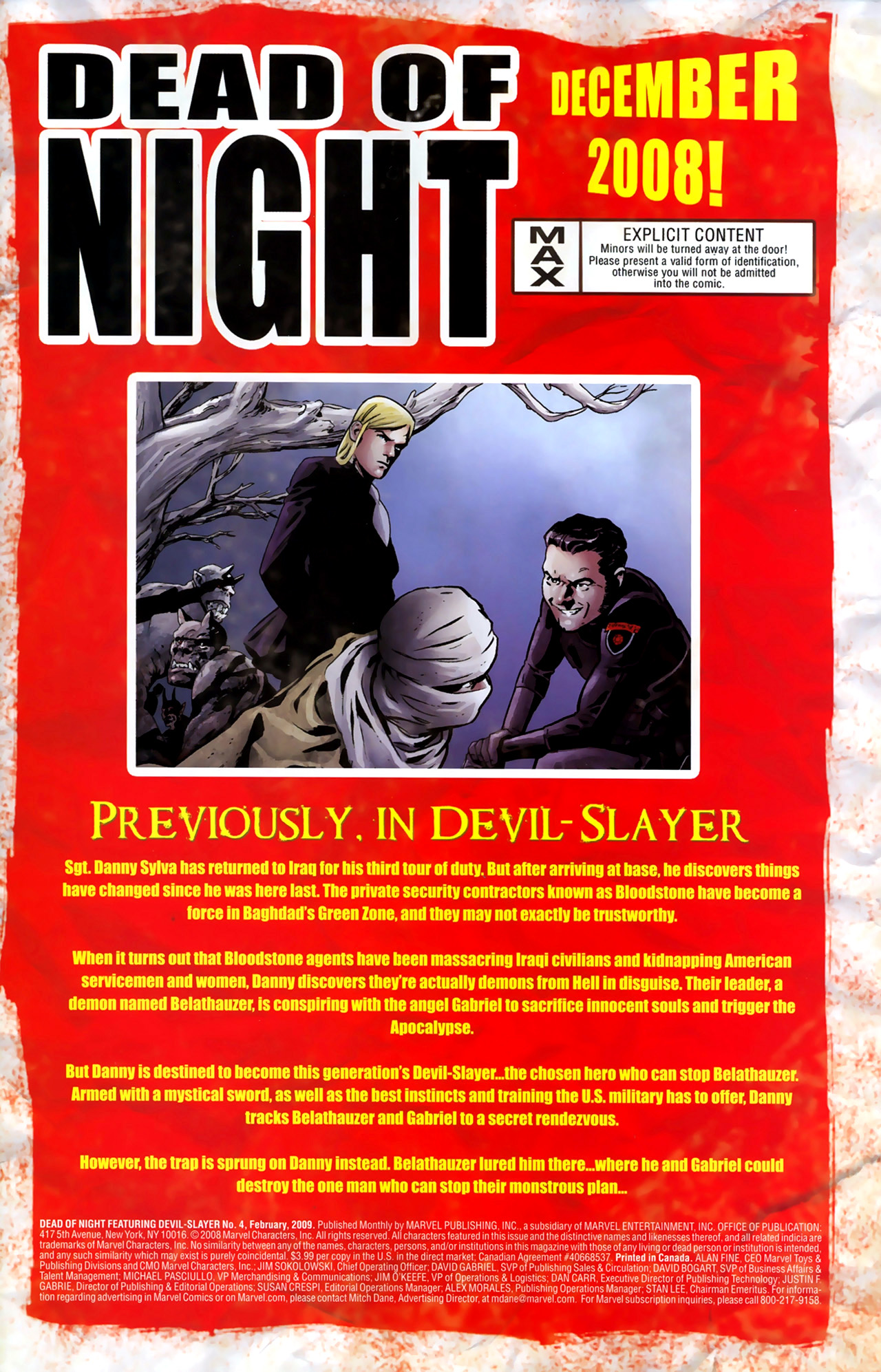 Read online Dead of Night Featuring Devil-Slayer comic -  Issue #4 - 2