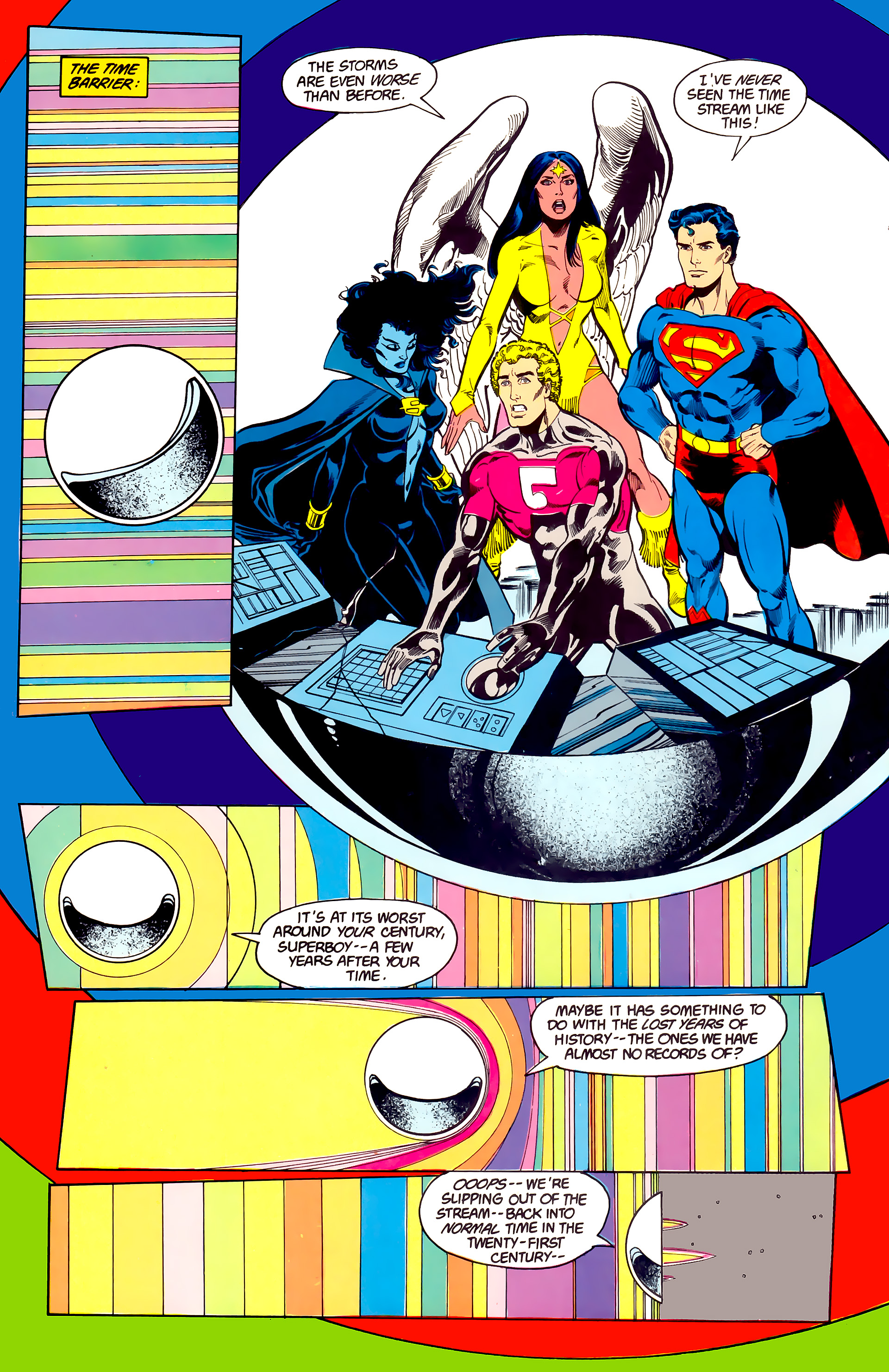 Legion of Super-Heroes (1984) 23 Page 25