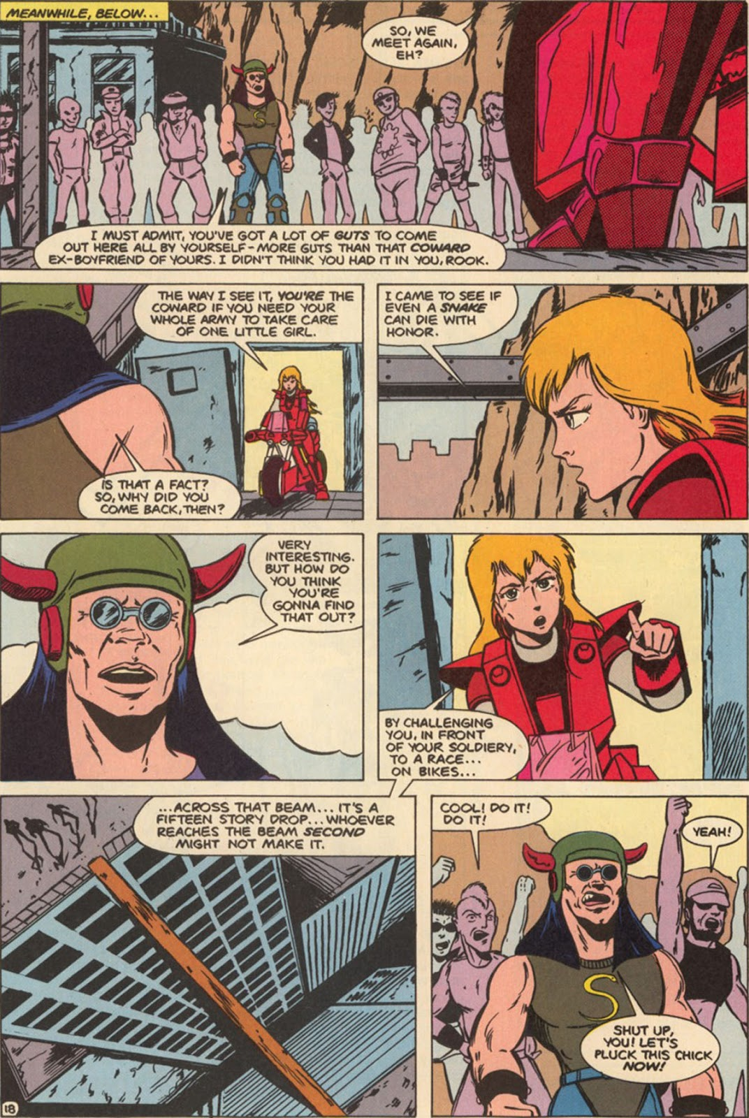 Robotech The New Generation issue 6 - Page 24