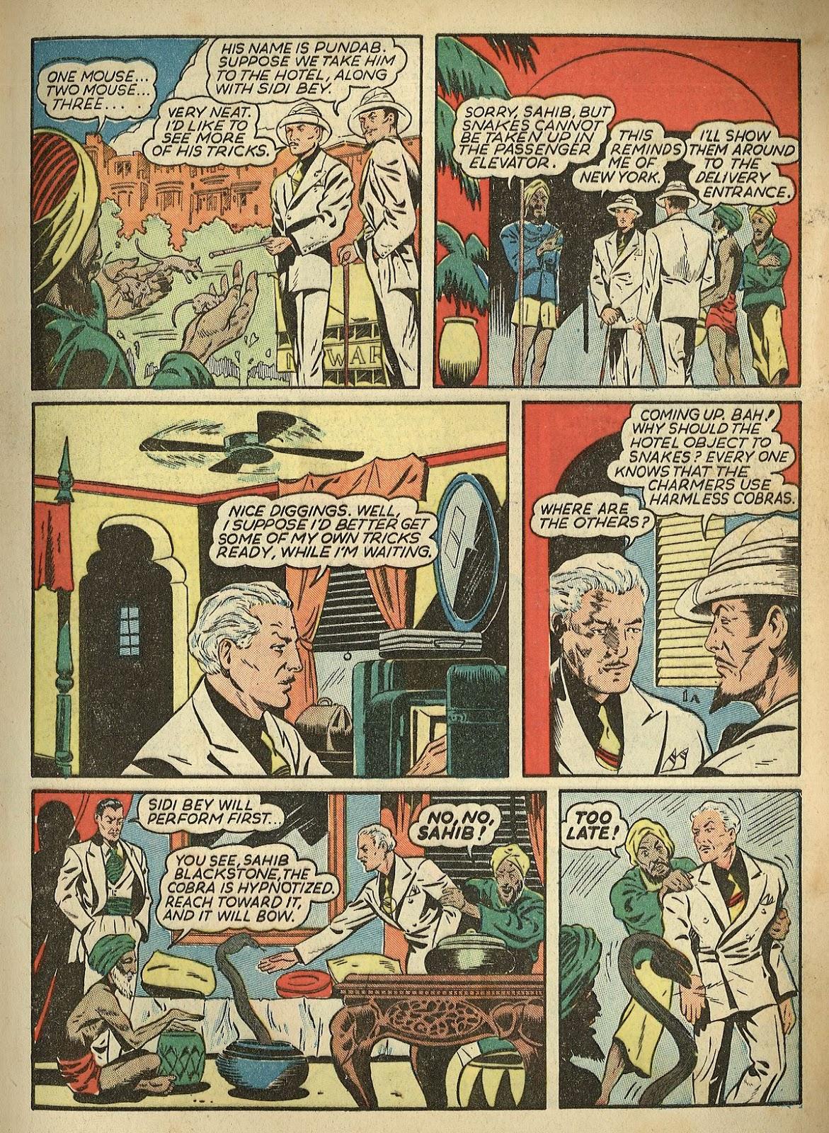 Read online Super-Magician Comics comic -  Issue #1 - 7