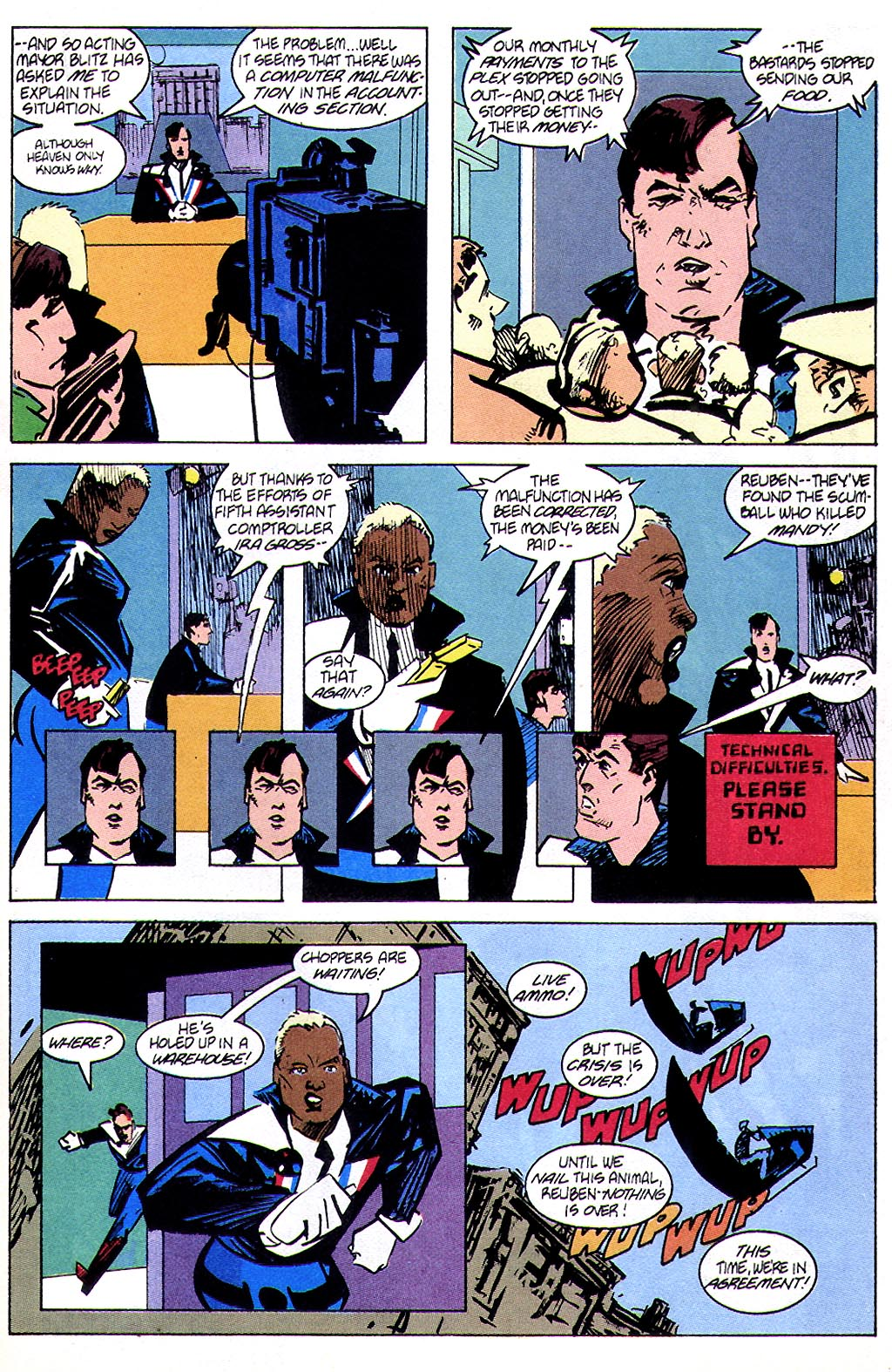 Read online American Flagg! comic -  Issue #45 - 19