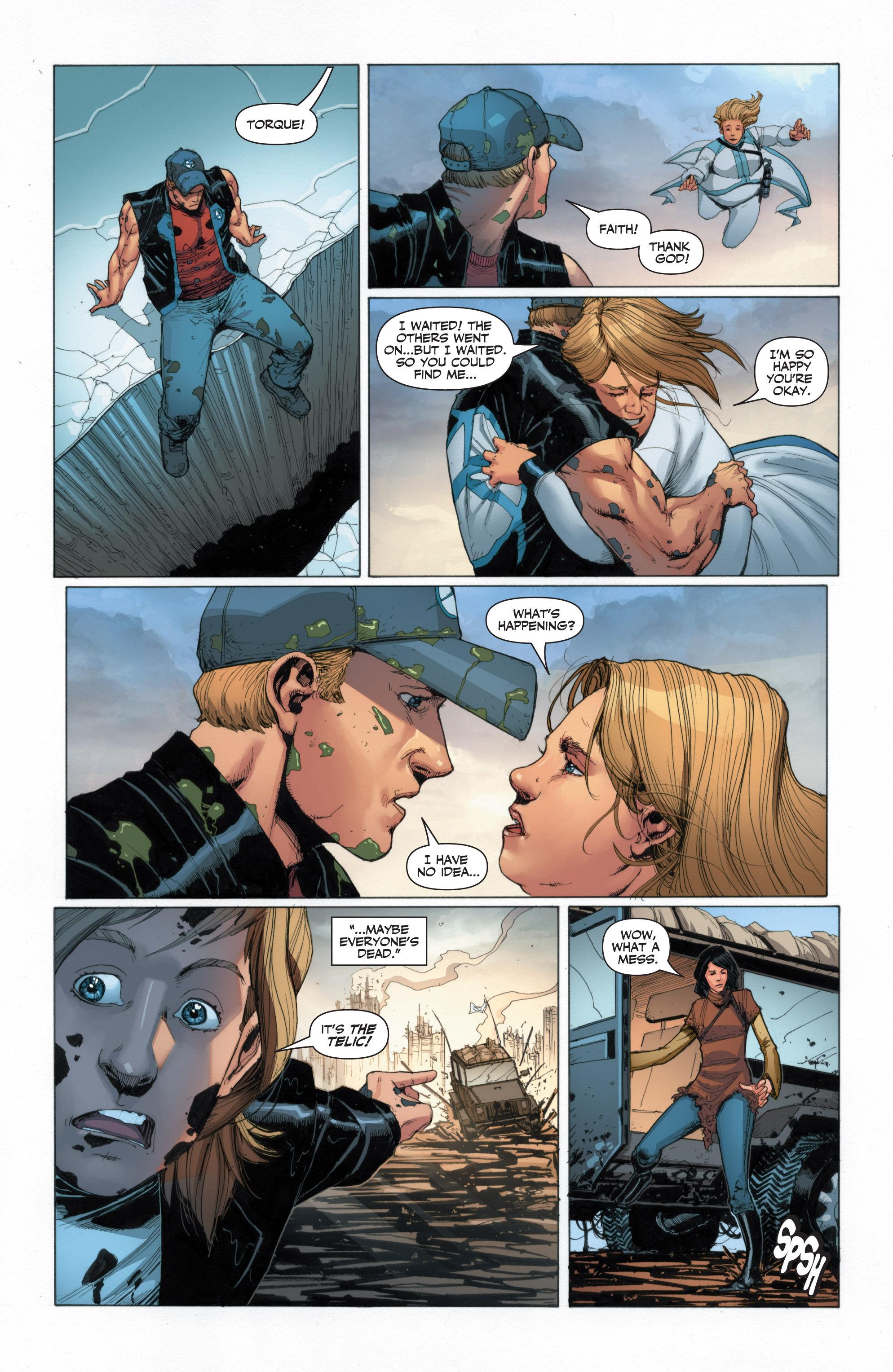 Read online Armor Hunters: Harbinger comic -  Issue # TPB - 73
