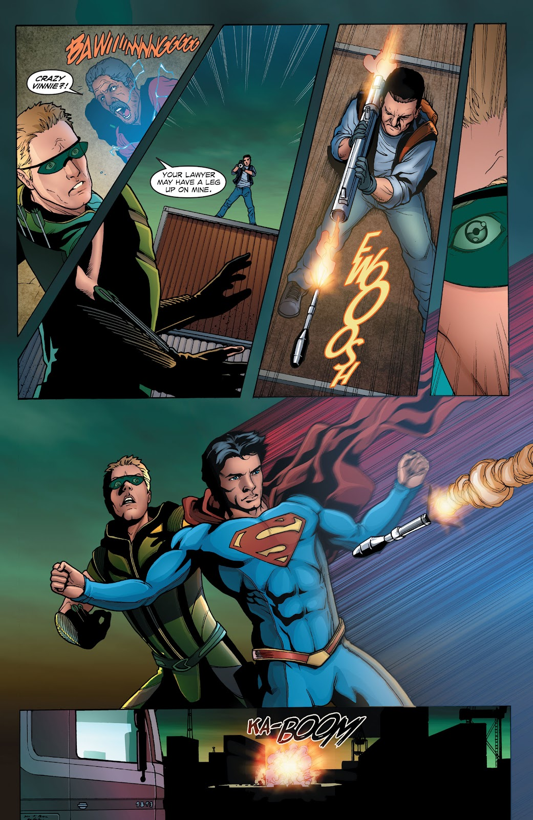 Read online Smallville Season 11 [II] comic -  Issue # TPB 1 - 31